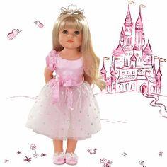 Κούκλα Hannah Princess Gotz 50 cm (Limited Edition) Weave Hairstyles, Straight Hairstyles, Sporty Hairstyles, Lange Blonde, Sport Hair, Smart Outfit, How To Start Knitting, Pink Tulle, Sporty Outfits