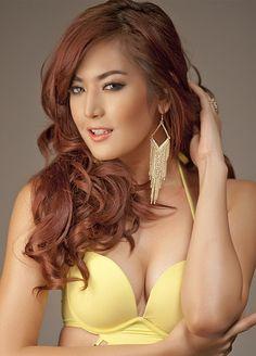 Maria Selena - Beautiful Woman who Represent Indonesia in Miss Universe 2012