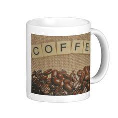 Cute Coffee Bean Mugs