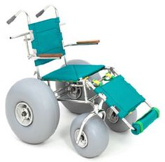 Landeez Beach Wheelchair -- Disabled but love the beach? Looks like this would be perfect.  #myositis