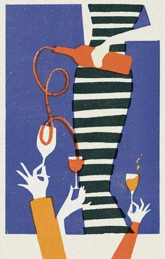 Cocktail Illustration, Coffee Illustration, Pattern Illustration, Wine Poster, Wine Art, Graphic Design Posters, Geometric Art, Background Patterns, Illustrations Posters