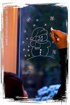 1000 images about winter weihnachten basteln backen - Fenster bemalen vorlagen ...