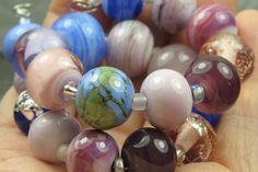 Into the Fire Lampwork Art Beads  ~Suave Pequeña~ Artist handmade glass beads #Lampwork