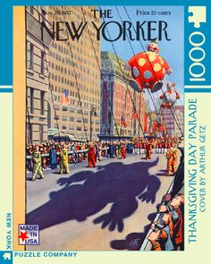 Thanksgiving Day Parade – New York Puzzle Company. 1000 piece puzzle.