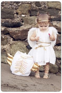 cutest little cherub costume