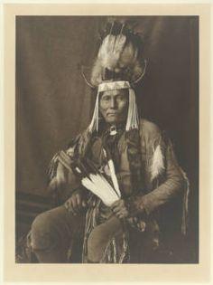 """Koon Kah Za Chy """"Apache John"""", Naishan Dene or Kiowa Apache Chief"""
