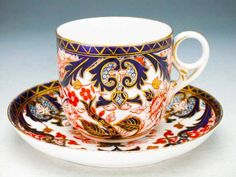 Royal Crown Derby - Tea is always better when served in a beautiful tea cup.