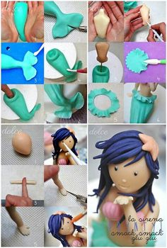 Meerjungfrau Meerjungfrau Meerjungfrau The post Meerjungfrau appeared first on Dress Models. Cake Topper Tutorial, Fondant Tutorial, Cake Decorating Techniques, Cake Decorating Tutorials, Sirenita Cake, Decors Pate A Sucre, Fondant People, Little Mermaid Cakes, Sea Cakes
