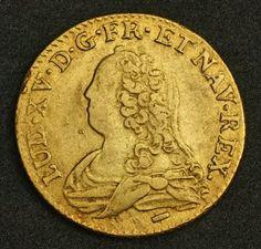 Royal France Gold Louis Coin