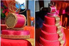 Indian Wedding Cake Idea | #Cakes #WeddingCakes #IndianCakes #Indian