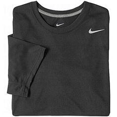 NIKE Mens Dri-FIT Legend T-Shirts Black Small $19.95