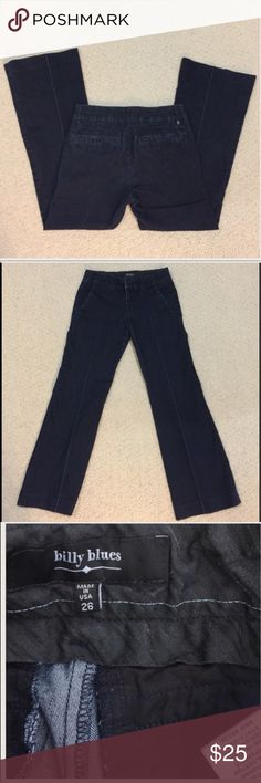 Billy Blue jeans size 26 Gently worn , size 26 , Comfortable , inseam is 27 inches, stretchy REASONABLE OFFERS ACCEPTED 7 For All Mankind Jeans