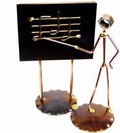 Music Teacher or Band Director... Wirecraft Figurine. This sturdy and affordable piece is a popular gift choice for music teachers and band directors whether they be in school, college or teach at a music store.   http://store.drumbum.com/skuMGF-95.html