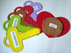 As Chaves e as portas do Coração | Objetivo: Doutrinário | Contém 6 peças em EVA…