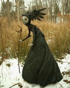"""Amazing new sculpture ""Witch by Dark Fantasy, Fantasy Art, Character Inspiration, Character Art, Witch Art, Creepy Dolls, Fantasy Creatures, Dark Art, Sculpture Art"