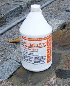 How to Use Muriatic Acid: Exercise extreme caution when using muriatic acid. It is a great product for cleaning masonry surfaces, but to use it safely, it must be used properly.