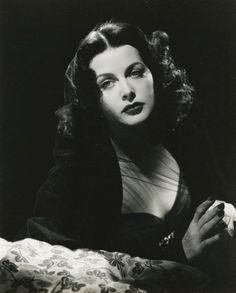 Hedy Lamarr...