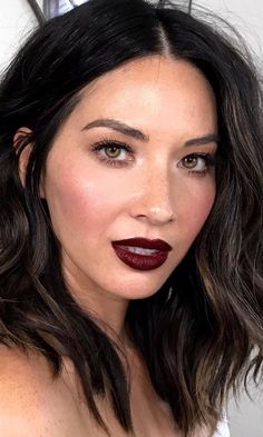 Be Bold! Take a look at some of our favorite dark purple- and maroon-toned lipsticks, and decide which one will be your bold pick for fall..
