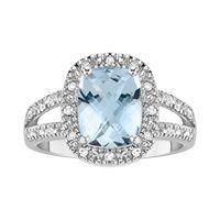 Beautiful aquamarine ring