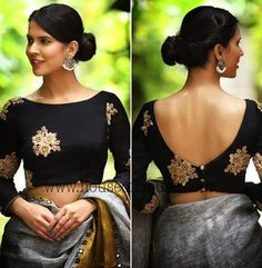 11 Trending Blouse Designs In 2019 That Will Impress You Source by bckfranzis Our Reader Score[Total: 0 Average: Related Latest Trending Silk Saree Blouse Designs - candlesNew Look Indian Blouse Designs, Saree Jacket Designs, Saree Blouse Neck Designs, Fancy Blouse Designs, Latest Blouse Designs, Boat Neck Saree Blouse, Saree Blouse Patterns, Saree Blouse Long Sleeve, Sleeveless Saree Blouse