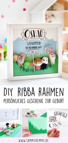 Diy Gifts For Him, Baby Ikea, Baby Party, Ikea Hack, Diy Crafts For Kids, Baby Shower Decorations, Baby Gifts, Personalized Gifts, Easy Diy