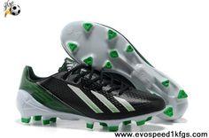 Wholesale Cheap Adidas F50 adizero TRX FG TPU Black Blue White Football Shoes Shop