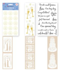Look at this Wedding Season Sticker Set on #zulily today!