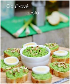chute a vône mojej kuchyne. Chutney, Avocado Toast, Guacamole, Pesto, Tacos, Breakfast, Ethnic Recipes, Food, Italy