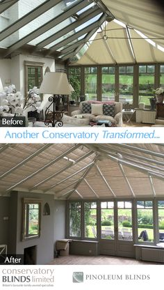 37 Most Inspiring Conservatory Roof Blinds Images Conservatory