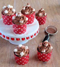 Chocolademelk cupcakes