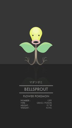 Bellsprout by WEAPONIX