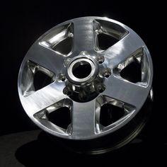 #Cerakote MC-160 High Gloss Ceramic Clear over Polished Aluminum Wheels. #theworldsstrongestclearcoat #polishedwheels #aluminumprotection #clearcoating