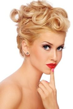"""Gorgeous Modern Vintage Hair For your wedding.  You can achieve that in our Salon Boutique """"OUT OF ESSEX"""" in Cheshunt, check our web page: www.outofessex.co.uk and get in touch"""