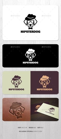 Hipster Dog Logo by ashenterprise Excellent mascot logo for your business identity. Using Free Font. Files including EPS, AI, and PDF Help (including font link and Hipster Dog, Logo Branding, Dog Logo Design, Typography Design, Logos Photography, Logos Vintage, Logos Ideas, Branding Ideas, Logo Simple