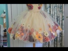 Making a Fall Flower Fairy, Part One | Angela Clayton's Costumery & Creations