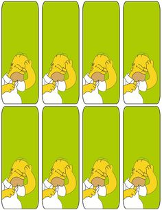 340 Best Simpson Printables Images Simpsons Party The