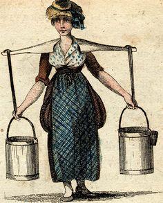 Georgian/Regency Life - Working Class People on Pinterest   Maids ...