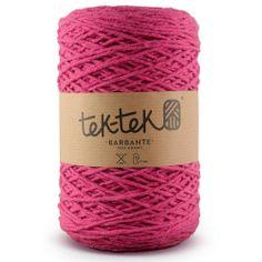 TEK-TEK® BARBANTE | Electric Pink Yarn #tektekyarn #barbante #tek-tek #yarn www.tektek.pt