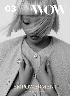 Soo Joo Park Wears Chanel for The WOW Magazine