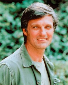 Alan Alda is a wonderful actor who graced out TV with MASH and his PBS shows.  He made me laugh so much.