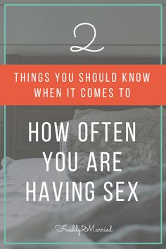 """Answering the two big questions of """"How often should couples be having sex?"""" and """"Does more sex make for a happier marriage? Sexless Marriage, Marriage Help, Strong Marriage, Marriage Relationship, Happy Marriage, Relationships, Intimacy Issues, Men Health Tips, Healthy Relationship Tips"""