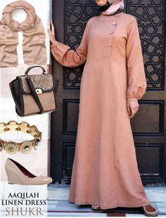 Share the SHUKR Inspiration - Aaqilah Linen Dress