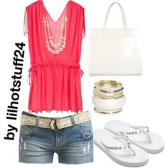 Untitled #1834, created by lilhotstuff24 on Polyvore