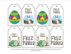 Etiquetas de Pascua de Resurrección para imprimir gratis
