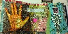 Love Love the variety on this page.    Kelly Kilmer Artist and Instructor: 11 January 2013 Journal Page