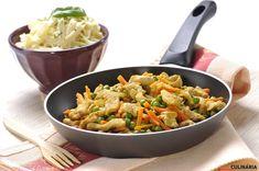 O que foi o jantar? Se ainda não jantou fica aqui a sugestão! Peito de frango salteado com legumes ♥ Clique aqui: