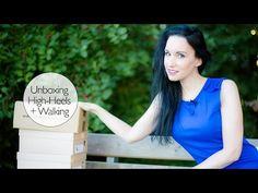 Fashionblog Update - Blaues Minikleid mit Peeptoes - Herbstlook