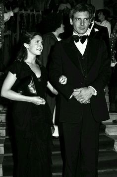 Harrison Ford and Carrie Fisher ❤️❤️