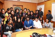 Irudhi Suttru Team at Ethiraj college latest pics