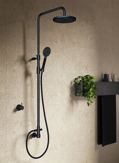 Hotbath Cobber doucheset zwart: toch is mooi zwart ook niet lelijk!